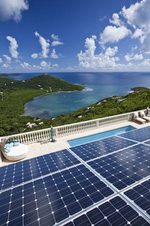 ESA Renewables' solar installation at St. Johns