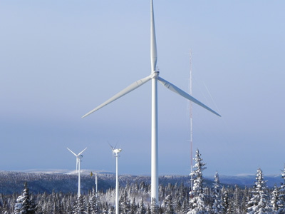 Several research and development projects related to wind energy in cold climates have been conducted in a number of countries